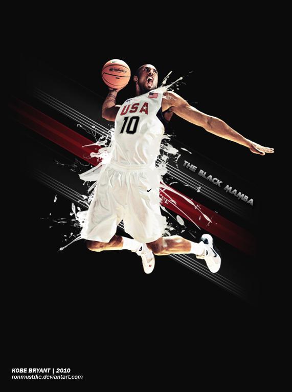 Kobe Bryant by ronmustdie