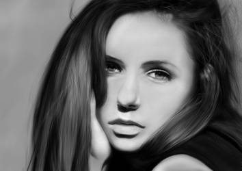 Nina Dobrev By NicoW by Artnicow