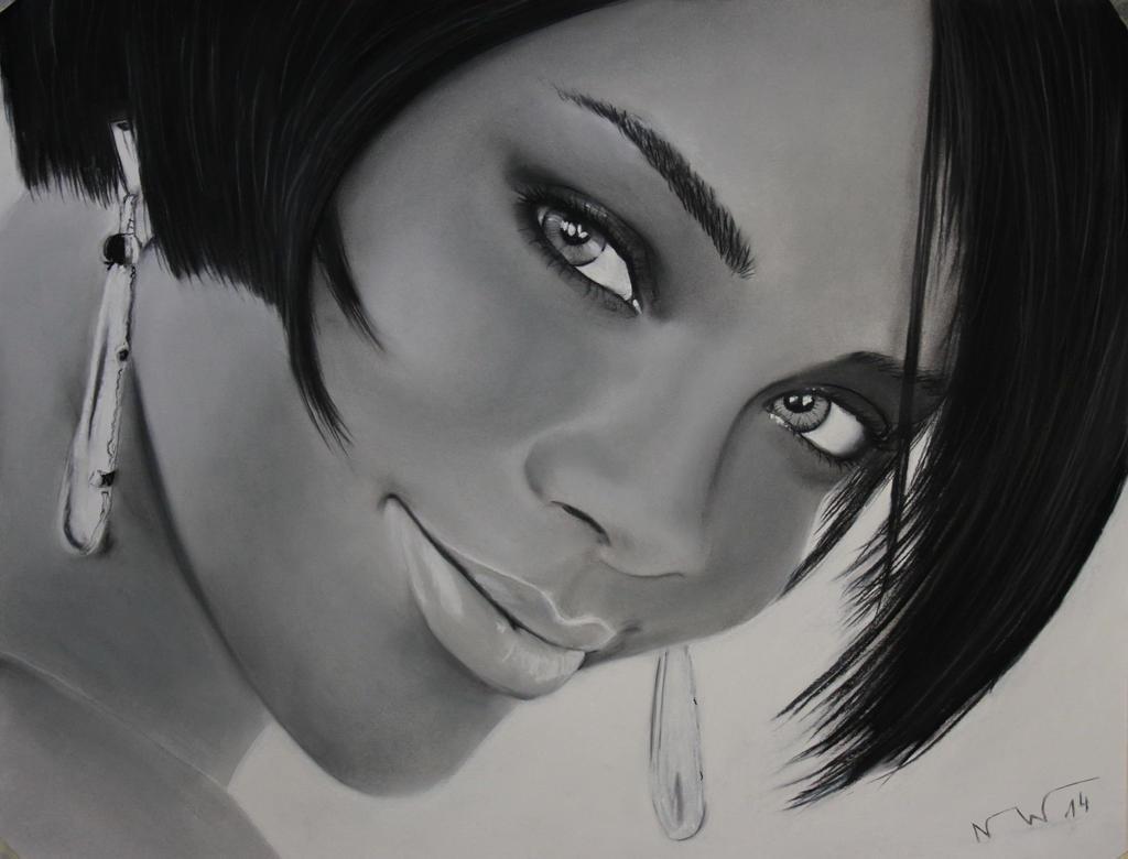 Rihanna by Artnicow