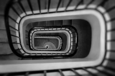 Opera Reims - Hypnotic spiral staircase