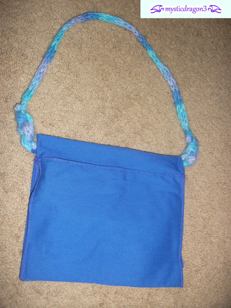purse with finger crochet strap by mysticdragon3 on DeviantArt