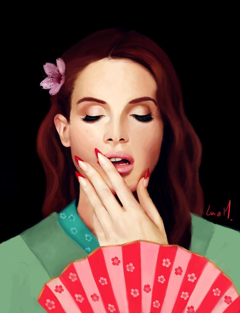 Dessin et peinture - Page 3 Geisha_del_rey_by_maxencel-d588rb0