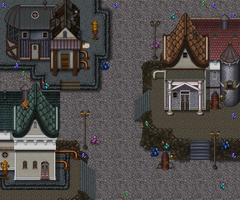 Steampunk City Mockup
