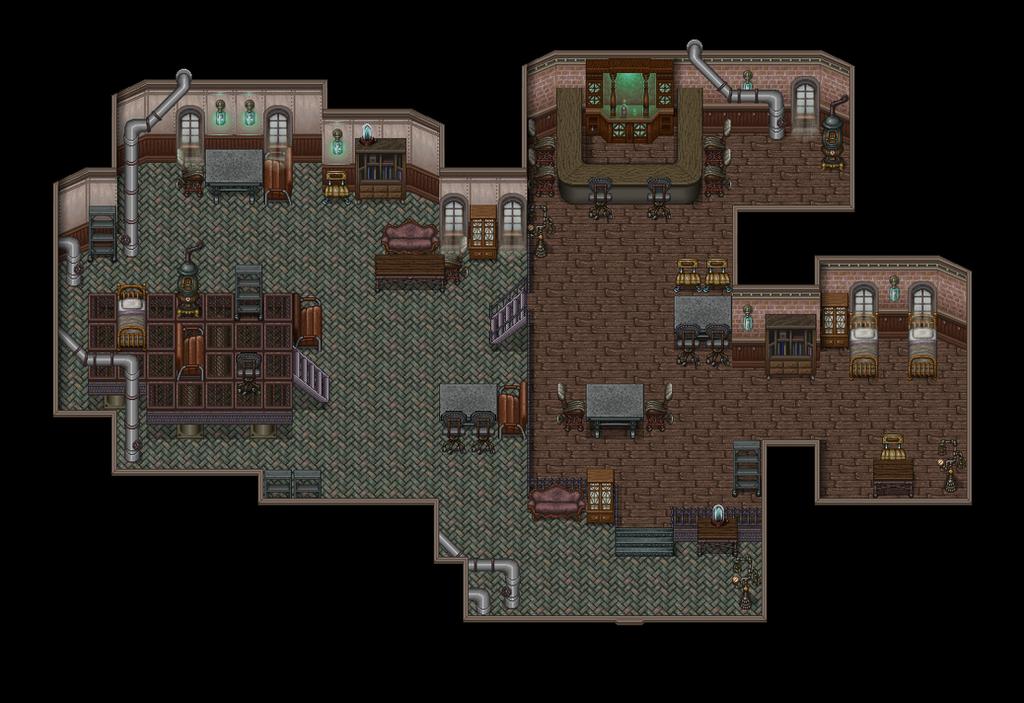 Steampunk Inn By Bbreakfast On Deviantart