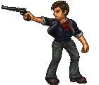 Booker DeWitt - BioShock Character Line Up by BBreakfast