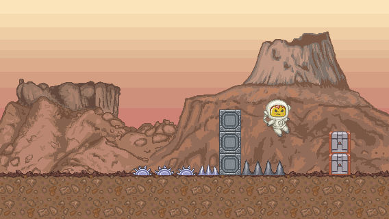 Space Runner MockUp