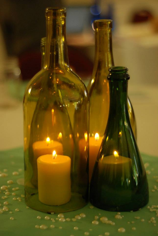 Wine Bottle Centerpieces By Eowynmaid On DeviantArt