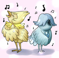 Pearl Birbs by VacantWhale