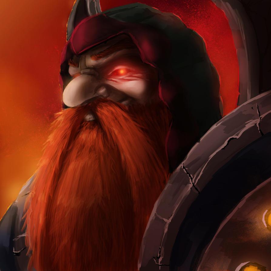 Dark Iron Dwarf by E-H23