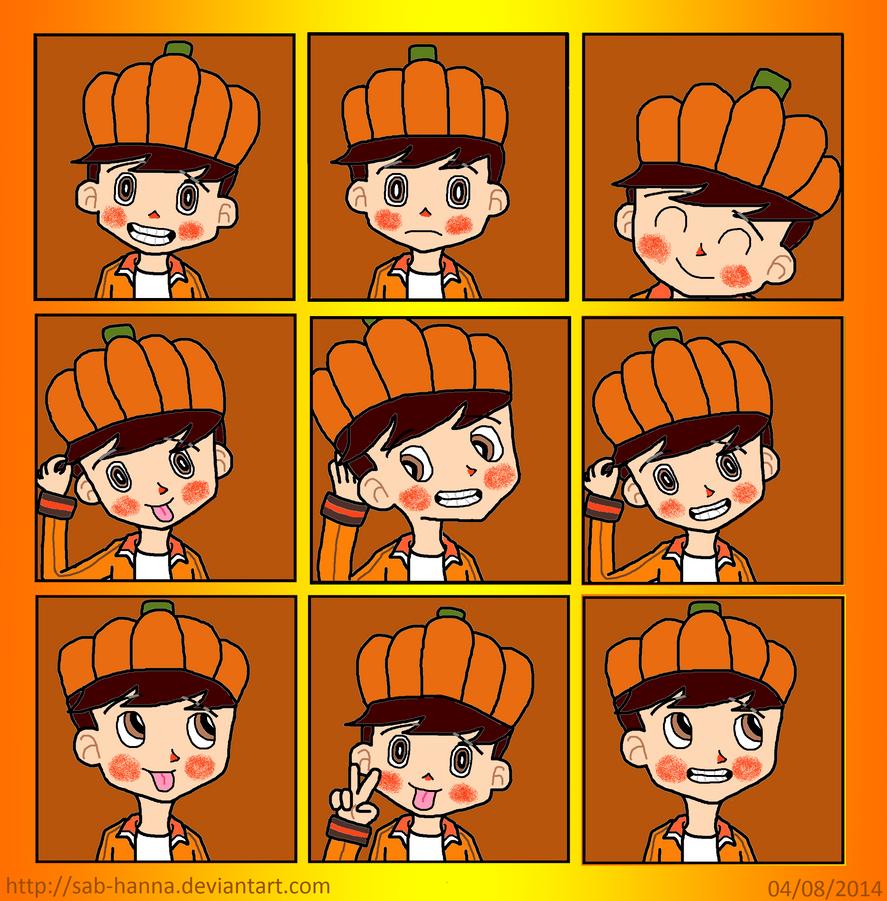 Gloyd Orangeboar Expressions Sheet by Sab-Hanna
