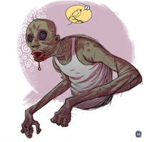 zombie sketch by marklaszlo666