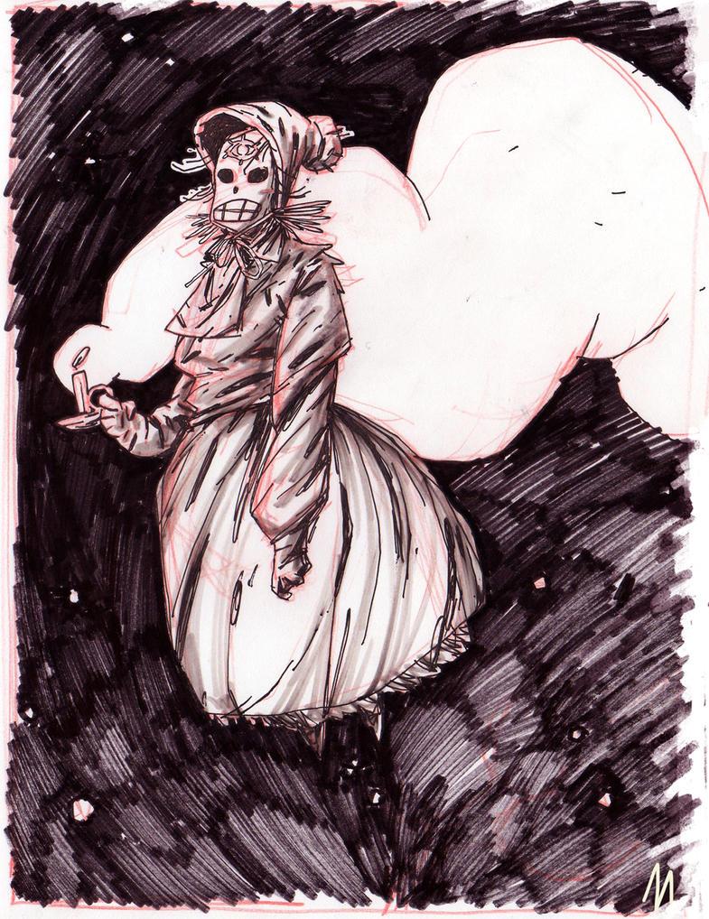 ghost woman by marklaszlo666