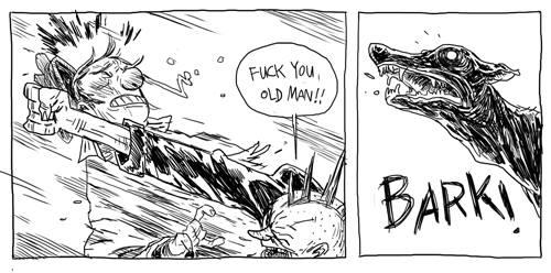 f*ck you old man!!!! by marklaszlo666