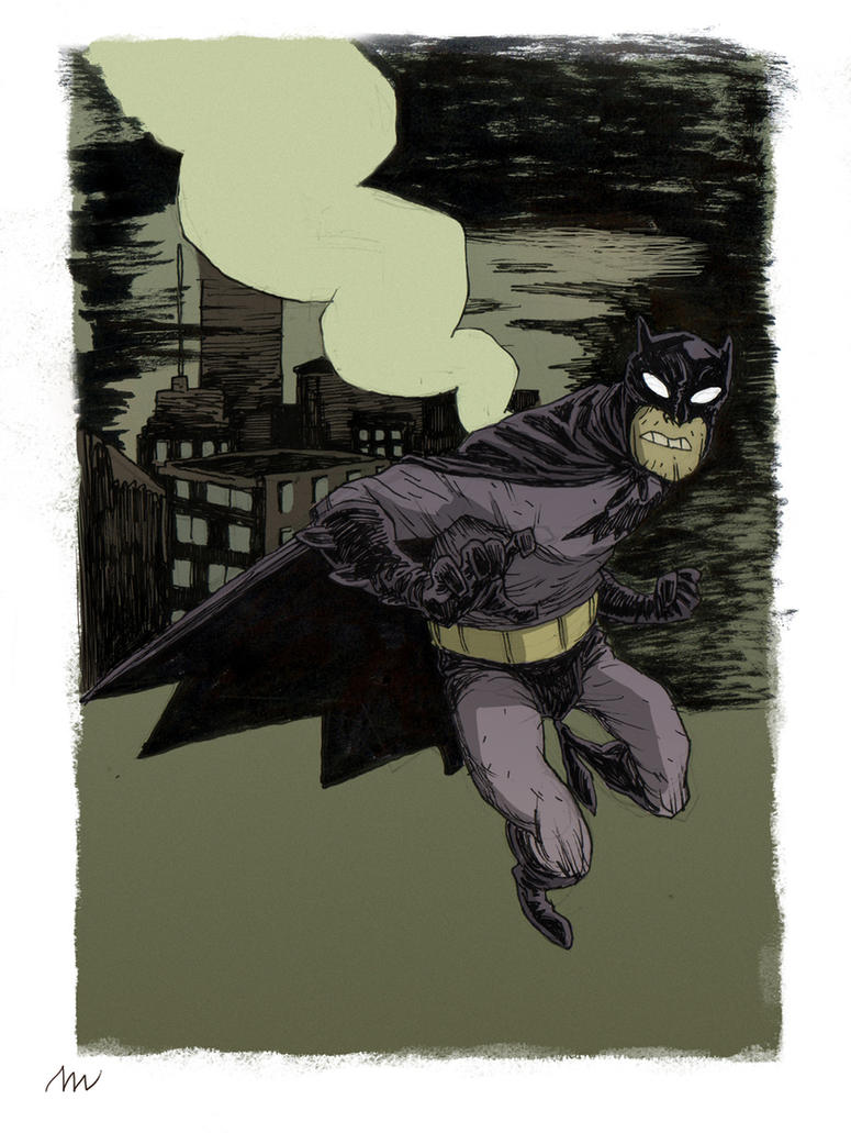 Batman commission by marklaszlo666