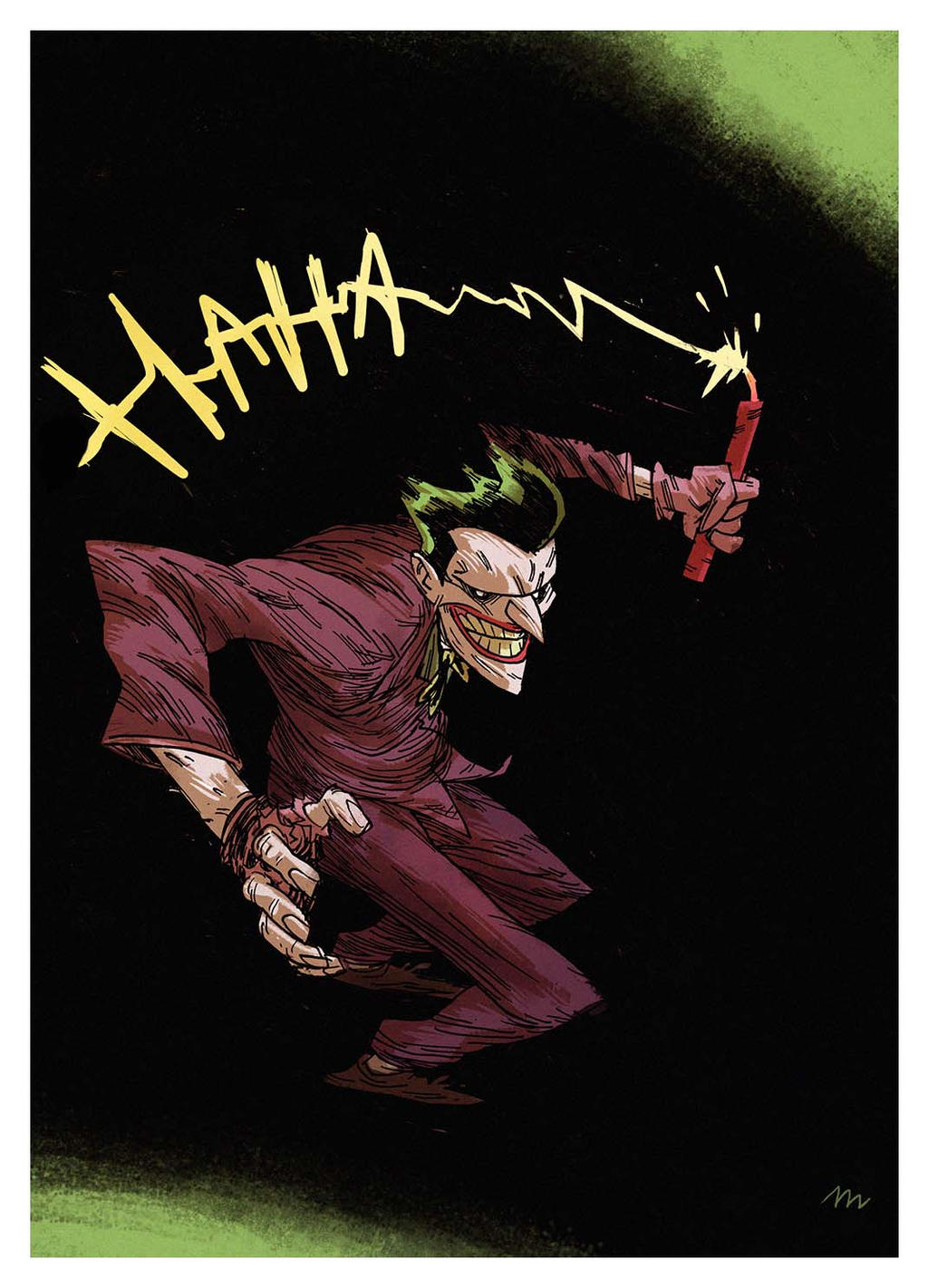 Joker commission by marklaszlo666