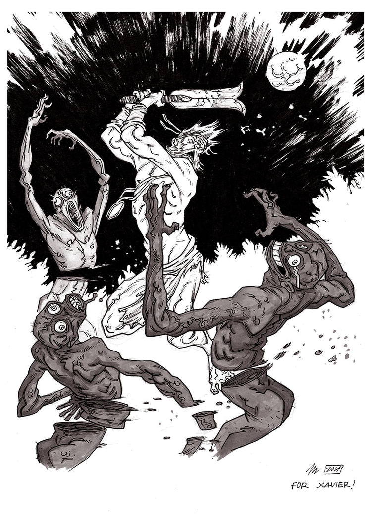 BPRD - Abyss of time (commission) by marklaszlo666
