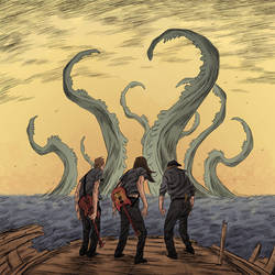 albumcover with tentacles by marklaszlo666
