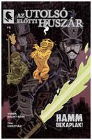 alternate cover for a comic by marklaszlo666
