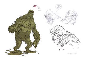 swamp thing by marklaszlo666