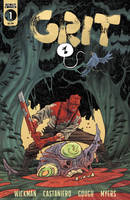 Grit #1 2nd Print Cover