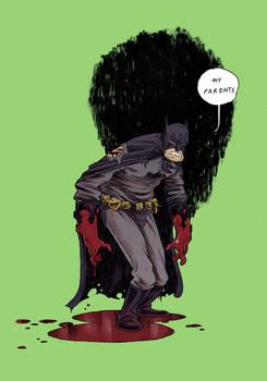 Bruce is a bit traumatized