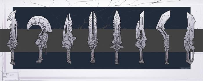 Sci-fi daggers