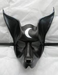 Anubis-style leather mask. by xothique