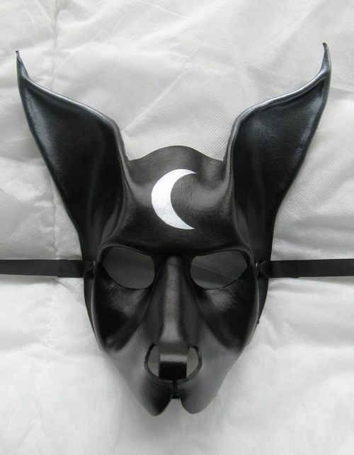 anubis style leather mask by xothique on deviantart. Black Bedroom Furniture Sets. Home Design Ideas