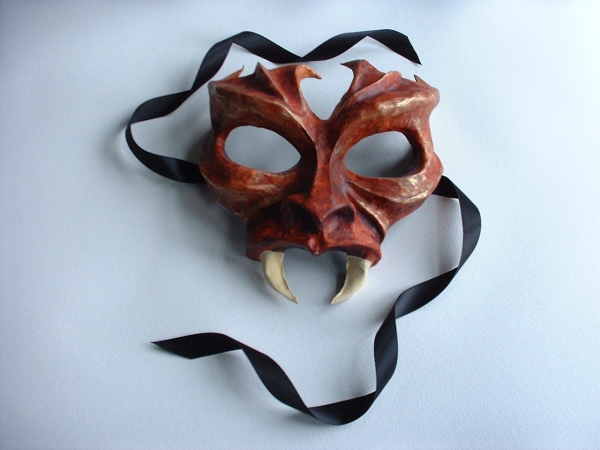 Demon mask.