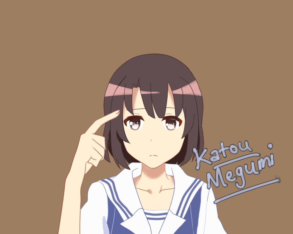 [FanArt]Kato Megumi by kid03