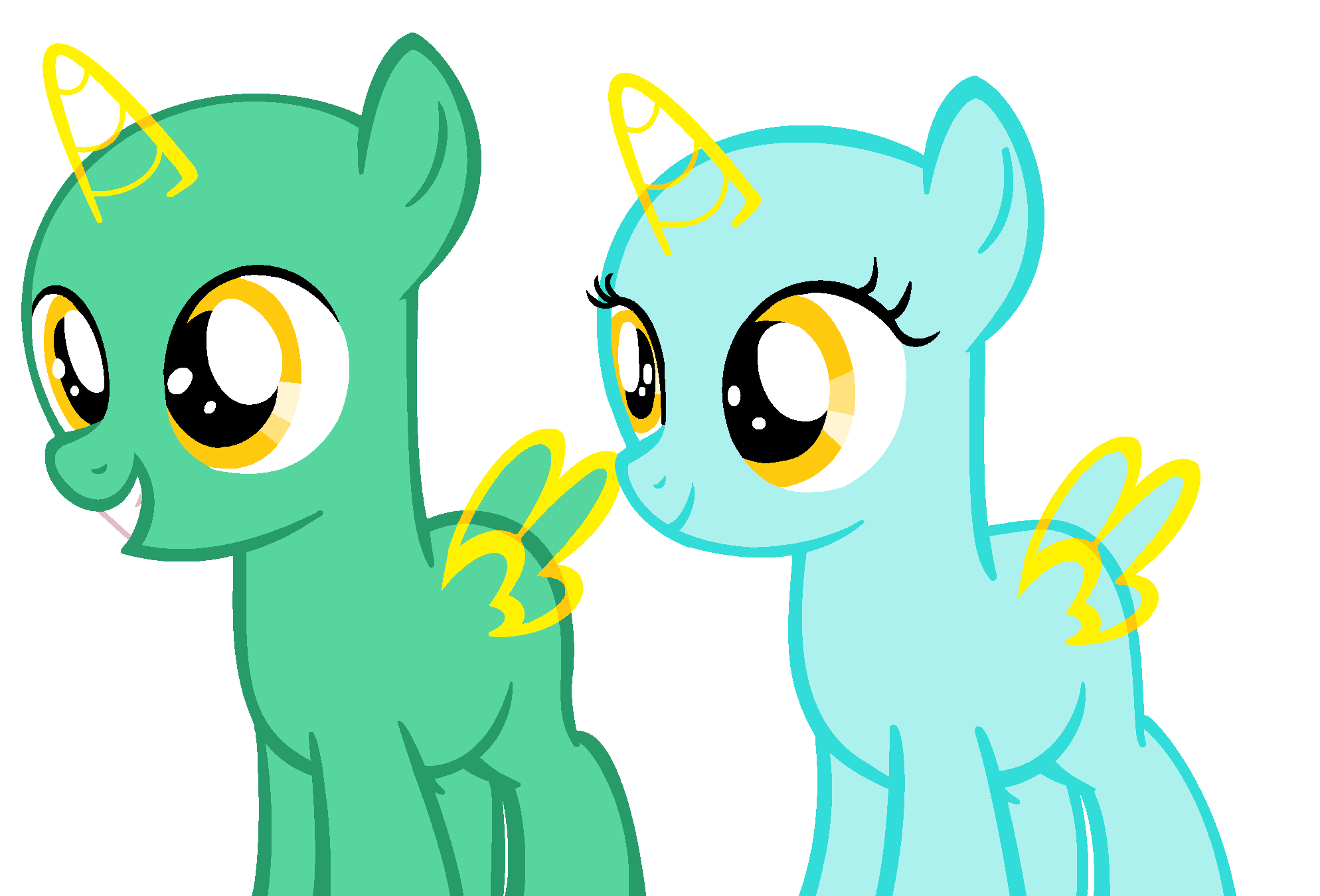 filly and colt base (37) by Amelia-Bases on DeviantArt