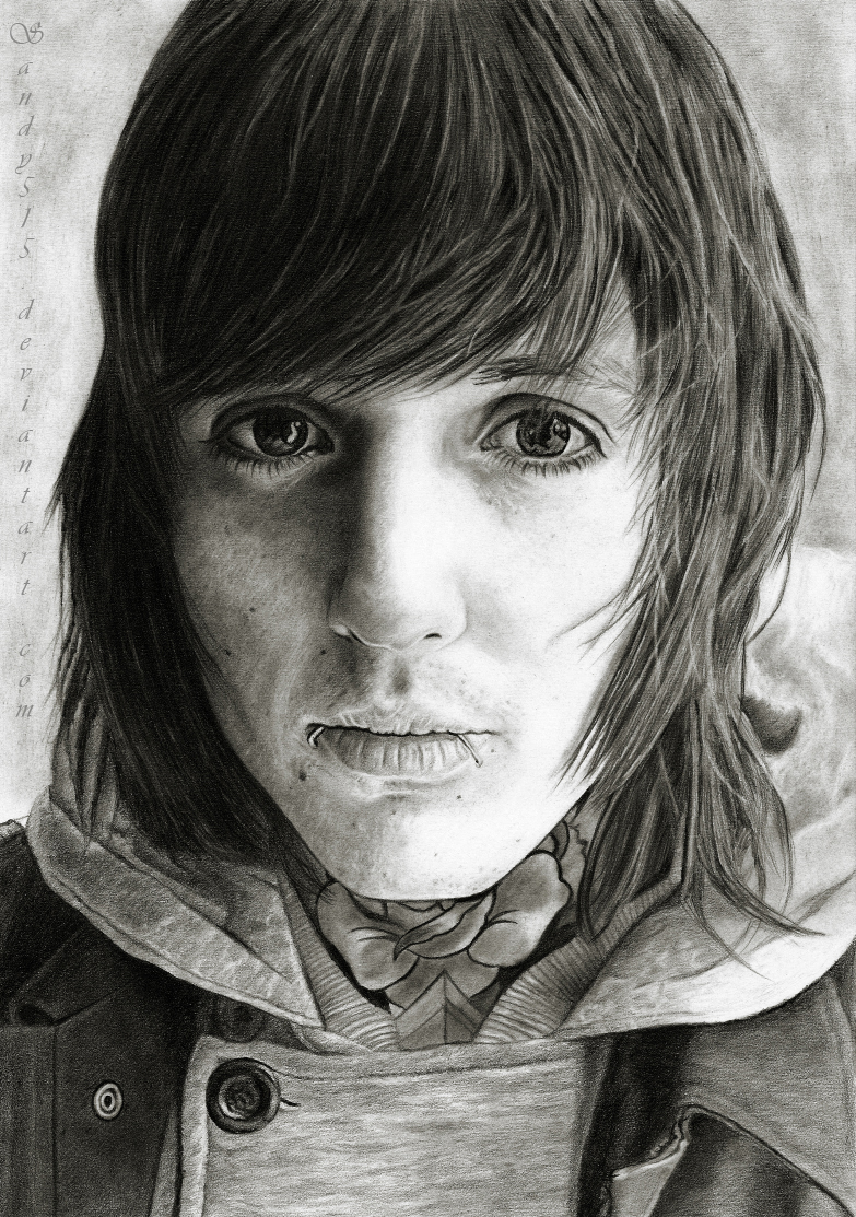 Oliver Sykes Drawing by Sandy515