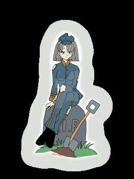 New OC! Grave digger