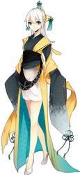 Adoptable: Jirachi Gijinka by Asacream