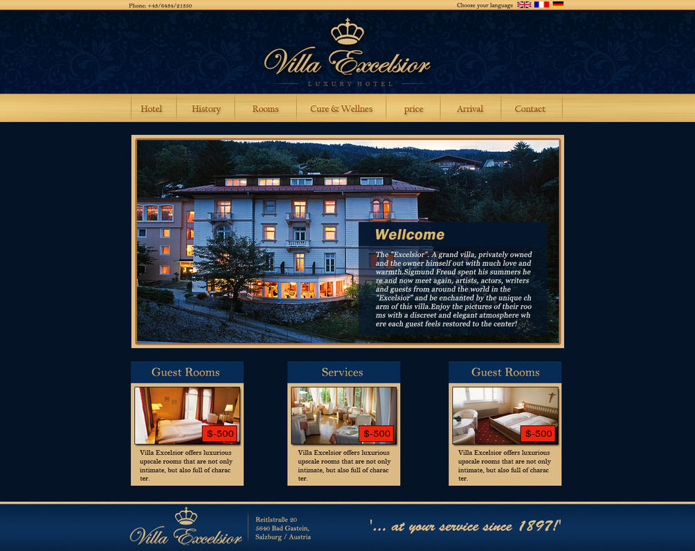 Best Hotel Website By Raj2akki On Deviantart