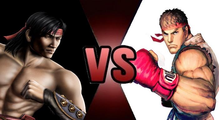 Ryu Hoshi vs. Liu Kang by MadnessAbe