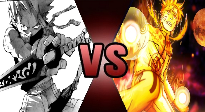Death Battle: Naruto vs Black Star prelude by GodDragonKing on