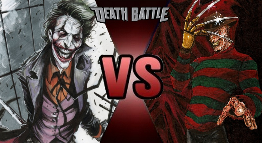Death Battle Freddy Vs Joker Act Two By Madnessabe On