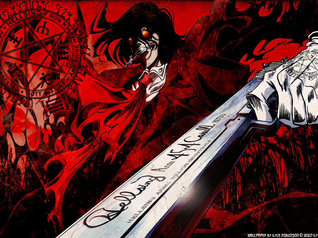 Alucard unleashes terror on Death Battle! by MadnessAbe on ...