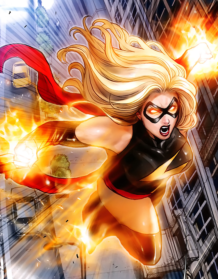 Carol Danvers Makes Death Battle Marvelous! by MadnessAbe on