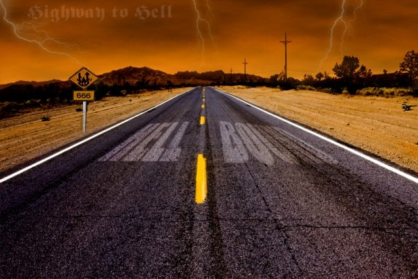 Highway to hell by noizkrew on DeviantArt