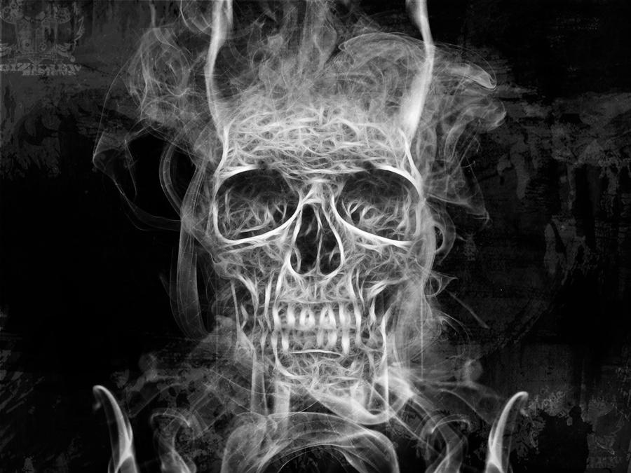 Smoke Skull by noizkrew on DeviantArt