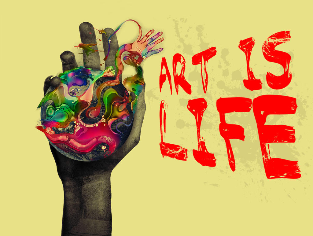 art is life There are other ways to get more art in your life, but the important thing to do is find some ways that work for you and then get going if we try to run our lives on the metrics, we'll end up bored and empty art can elevate and enable us to live lives deep in meaning, rich in joy, and full of creativity.