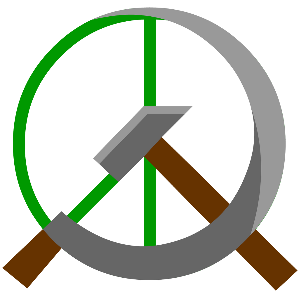 Anarcho communist stencil by domain of the public on deviantart communist peace symbol by domain of the public biocorpaavc Gallery