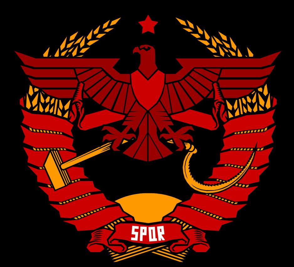 Soviet Populusque Romanus by Domain-of-the-Public