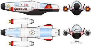Imperator-class Spaceliner by Masazaki