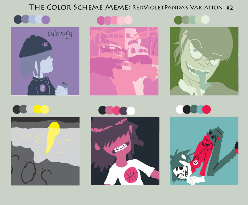 Colors Meme by HIILIKESTUFFxD