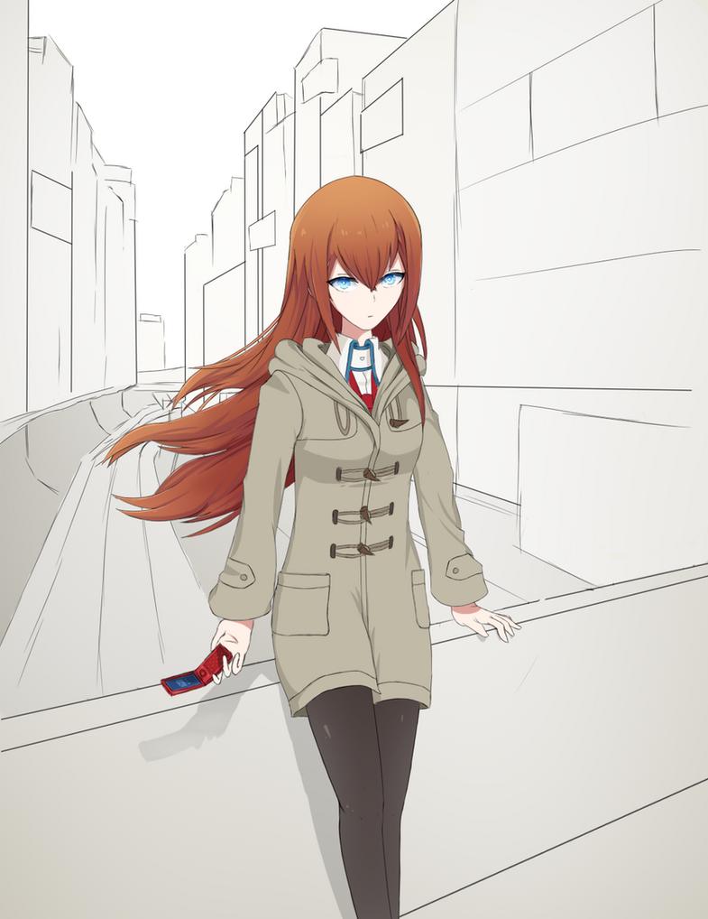 Kurisu Makise by Mskpony