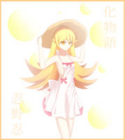 Oshino Shinobu by Mskpony