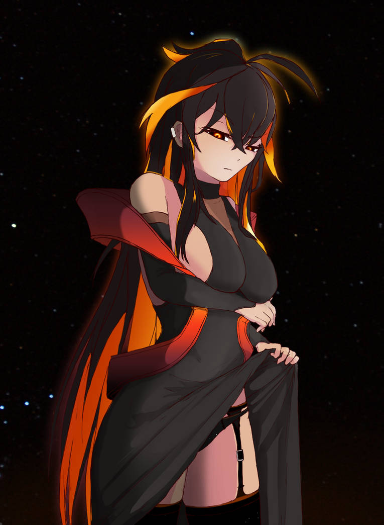 Black hole-chan :3 by Mskpony on DeviantArt